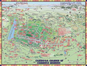 CAZENOVIA AREA MAP - WIDE